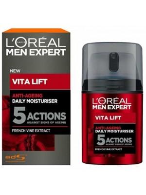 Wholesale Loreal Men Vita Lift 5 Actions French Vine Extract Anti-ageing Moisturiser - 50ml
