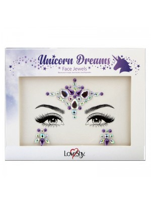 Wholesale Love Shy Festival Face Jewels - Unicorn Dreams