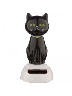 Wholesale Lucky Black Cat Solar Pal