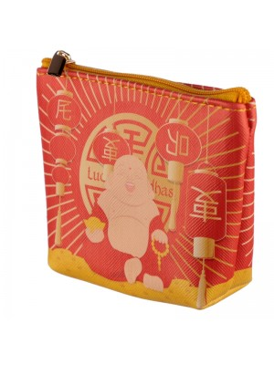 Lucky Buddha PVC Coin Purse