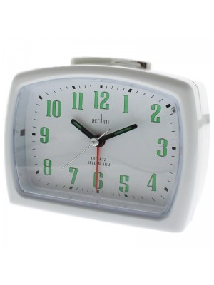 Acctim ISLA Alarm Clock  - White
