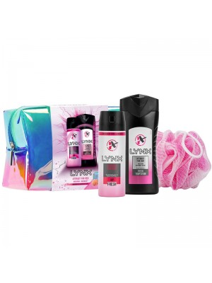 Wholesale Lynx Ladies Attract for Her Wash Bag Gift Set