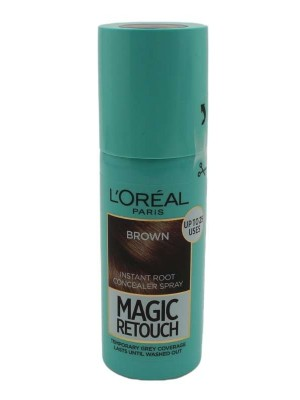 L'Oreal Paris Magic Retouch Instant Root Concealer Spray- Brown(75ml)