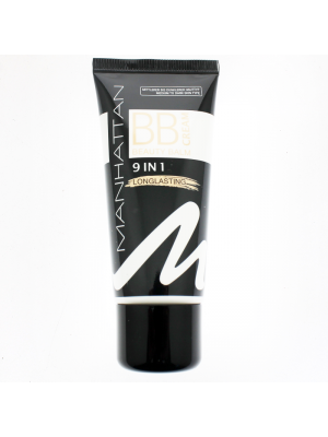 Manhattan BB Cream 9 In 1 Longlasting-Foundation