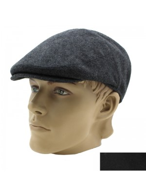 Wholesale Men's Flat Cap With Stretchy Fit - Assorted Colours