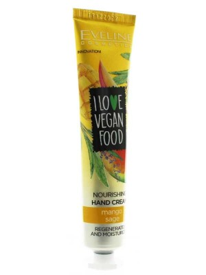 Wholesale I Love Vegan Food Nourishing Hand Cream 50ml-Mango Sage