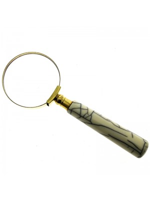 Marble Effect Handle Magnifier - 14cm
