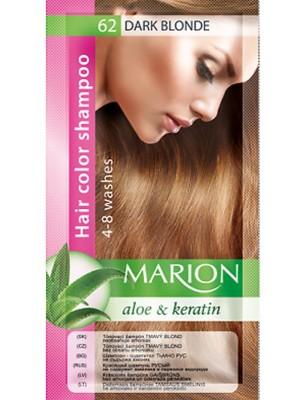 Wholesale Marion Aloe & keratin Hair Colour Shampoo - Dark Blonde (62)