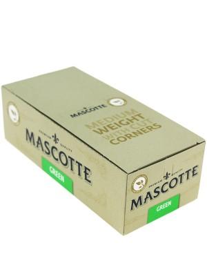 Wholesale Mascotte Organic Hemp Green Medium Weight R-Paper With Cut Corners