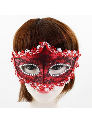 Masquerade Face Mask - Assorted Colours