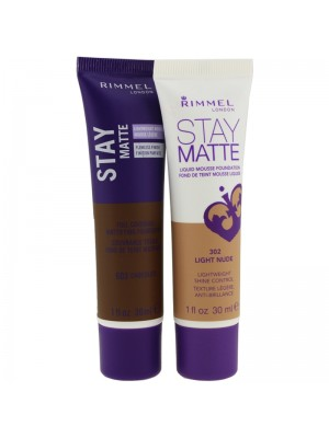 Wholesale Rimmel London Stay Matte Foundation - Assorted Shades