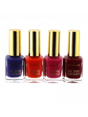 Max Factor Gel Shine Lacquer Nail Polish - Assorted