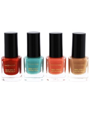 Max Factor Max Colour Effect Mini Nail Polish - Assorted
