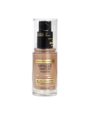 Max Factor Miracle Match Foundation - 65 Rose Beige