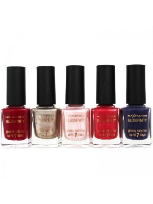 Max Factor Glossfinity Nail Polish - Assorted