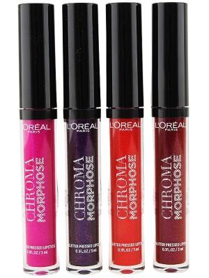 Wholesale Maybelline Chroma Morphose Glitter Pressed Lipstick - Assorted