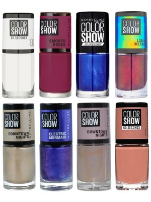 Wholesale Maybelline Colour Show Nail Polishes - Assorted