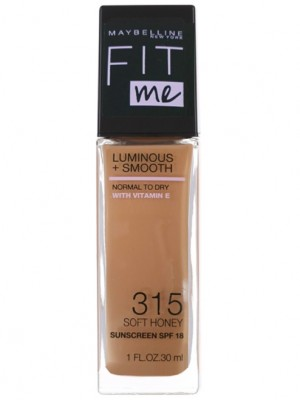 Wholesale Maybelline Fit Me Luminous & Smooth Foundation - 315 Soft Honey