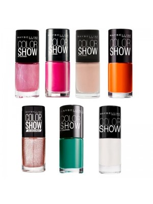 Maybelline Colour Show Nail Polishes - Assorted Colours