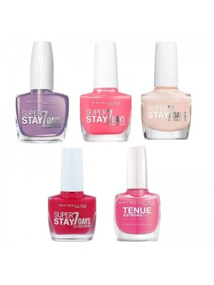 Maybelline Super Stay 7 Days Nail Varnish - Assorted Colours