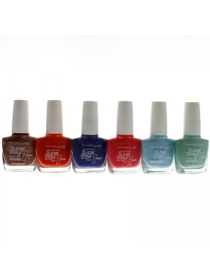 Maybelline Super Stay 7 Days Nailpolishes - Assorted