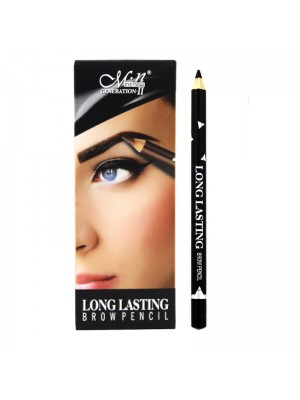 Wholesale Me Now Long Lasting Eyebrow Pencil - 01 Black
