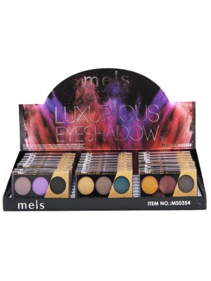 Wholesale Mels Luxurious Eyeshadow - Assorted Colours