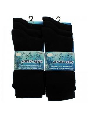 Men's Always Fresh Socks - Black