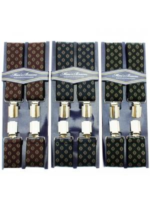Men's Braces Diamonds Print Assorted 35mm