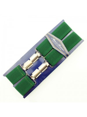 Men's Braces Emerald Green 35mm Wide