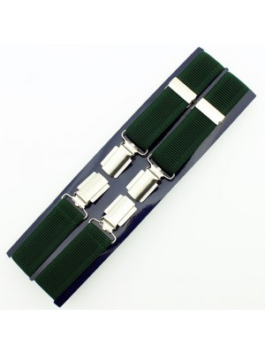 Men's Braces Green 25mm Wide