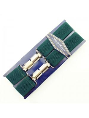 Men's Braces Green 35mm Wide