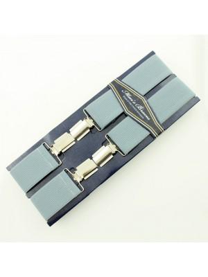 Men's Braces Grey 35mm Wide