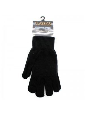 Men's Classic Magic Gloves - Black