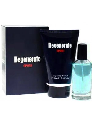 Wholesale Men's Fine Perfumery Perfume Gift Set 2 pcs - Regenerate Sport