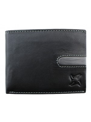 Wholesale Men's Leather Wallet - Black