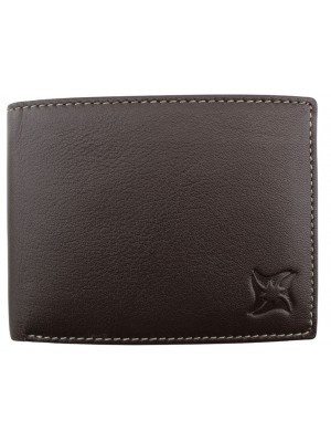 Men's Leather Wallet - Brown