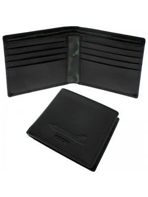 Wholesale Men's Military Heritage Leather Wallet 10 Card Slots - Vulcan
