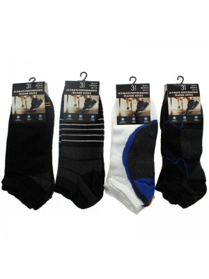 Wholesale Men's Ultimate-Performance Trainer Socks Assortment