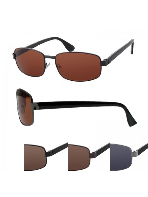Men's Fashion Sunglasses - Metal Feel Frame (Assorted Colours)