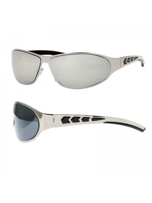 Men's Fashion Sunglasses (Arrow Design) - Silver Frame