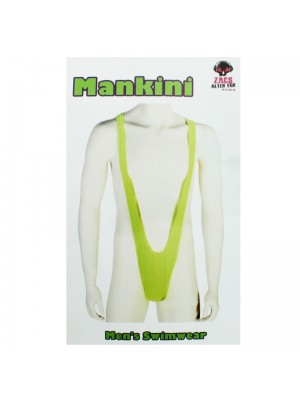 Men's Swimwear Mankini - Neon Green
