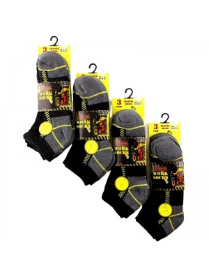 Men's Ultimate Trainer Work Socks (3 Pair Pack)