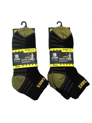 Mens Crew Work Socks UK 7-11
