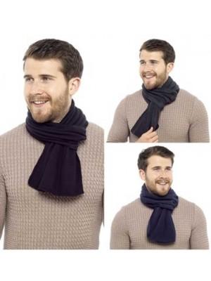 Wholesale Mens Fleece Scarves - Assorted Colours
