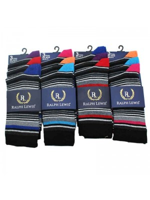 Mens Ralph Lewis Socks Assorted Colours - 6-11