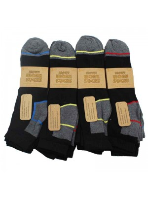 Mens Safety Work Socks - 6-11