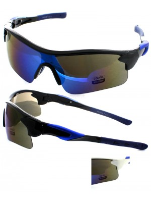 Mens Semi-Rimless Sunglasses - Assorted Colours