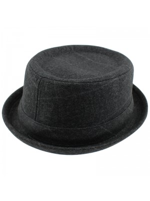 Mens Striped Trilby - Assorted Sizes