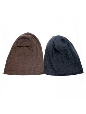 Mens Thin Slouch Beannie Hats- Asst. Colours